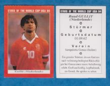 Holland Ruud Gullit Sampdoria 1994